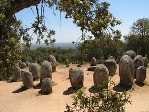 megalithic monuments, cromelech of Almendres