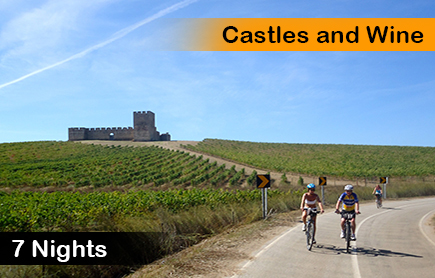 Portugal bike tours, castles and wine