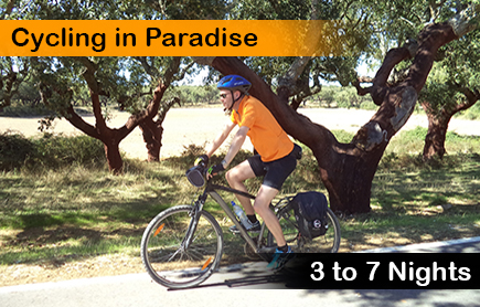 Cycling holidays in Portugal, Cycling by the cork trees